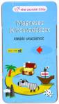 IQ Joc de logică magnetic: Vânătoare de comori versiunea magnetică (YC-759) Joc de societate