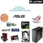 PC FACTORY Best of Gamer Számítógép konfiguráció