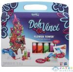 Hasbro Play-Doh DohVinci virágtorony képkeret készítő készlet A7191