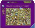 Ravensburger Colin Thompson - Varázslatos könyvespolc 18000 db-os (17825)