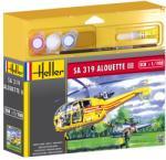 Heller SA 319 Alouette III 1/100 49045