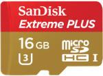 SanDisk Extreme Plus microSDHC 16GB U3 SDSQXSG-016G-GN6MA
