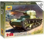 Zvezda Soviet Light Tank T-26M 1/100 6113