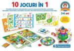 Clementoni 10 Jocuri in 1 (CL60345) Joc de societate