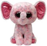 TY Inc Beanie Boos: Ellie - Baby elefant roz 24cm (TY34108)