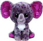 TY Inc Beanie Boos: Specks - Baby elefant mov-gri 15cm (TY36156)