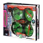 Jamara Toys Flyscout távirányítós quadrocopter kamerával