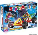 Supermag Supermag: Supermaxi vehicule jucărie cu magnet de 76 de bucăţi