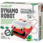 4M Kidz Labs - Green Science - Dinamó Robot tudományos kreatív készlet