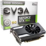 EVGA GeForce GTX 960 SC GAMING 4GB GDDR5 128bit PCI-E (04G-P4-1962-KR) Placa video