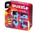 Puli Puzzle Puli Mágneses kirakó - Szamár és barátai