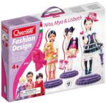 Quercetti Mágneses öltöztető babák - Mia, Nita és Lisbeth