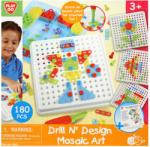 Playgo Csavaros mozaik játékkészlet - 180db-os