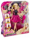 Mattel Endless Curls - Barbie cu par carliontat si cu accesorii (BMC01) Papusa Barbie
