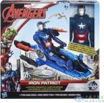 Bosszúállók Bosszúállók: Ultron Kora Akciófigura Járművel - Iron Patriot (Hasbro, B0431-I)