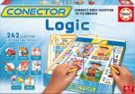 Educa 16422 spoločenská hra CONECTOR Logické myslenie - angličtina 242 otázok od 4 - 7 rokov (EDU16422) Joc de societate
