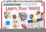 Educa 14620 Joc de societate Conector Lear Your World engleză 352 de întrebări 39*26*5 cm (EDU14620) Joc de societate