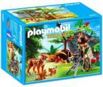 Playmobil Wild Life - Természetfilmes és a hiúzcsalád (5561)