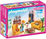 Playmobil Dollhouse - Nappali kandallóval (5308)