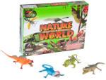 Mega Creative Műanyag hüllő állatfigurák többféle 22 cm
