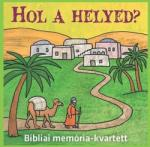 Parakletos Hol a helyed? Bibliai memória-kvartett EGY34254