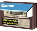 Conrad URH retro rádió építőkészlet (192202)
