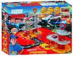 Haber Super Garázs játékszett, 4+3 szintes, 2 autóval