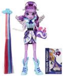 Hasbro Equestria Girls: Rainbow Rocks - Papusa Twilight Sparkle cu accesorii de par (B1037)