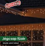 DekorTrend Design Dekor melegfehér LED-es jégcsapfüzér 6m (KDL 128)