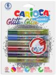 Carioca Multy csillámos dekoráló szett - 6db-os