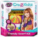 CRA-Z-ART Cra-Z-Knitz trendi csajszi sál design - többfajta (17121)