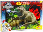 Lisciani Jurassic World 250 db-os színezhető puzzle (48649)