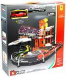 Bburago Ferrari Race and Play verseny garázs