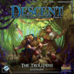 Fantasy Flight Games Descent: Journeys in the Dark (2nd edition) - Trollfens kiegészítő