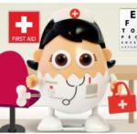Bluw EggBods: Nurse Eggwhite - Minirobotel