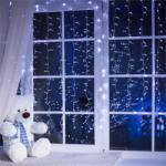 Blumfeldt Dreamhouse karácsonyi fényfüzér, 8 m, 160 LED, hideg fehér, hóhullás hatás - electronic-star