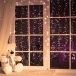 Blumfeldt Dreamhouse karácsonyi fényfüzér, 8 m, 160 LED, meleg fehér, hóhullás hatás - electronic-star