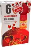 Ароматни чаени свещи 6 бр. - романтика