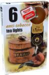 Ароматни чаени свещи 6 бр. - антитабак