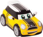 Golden Bear Toys Go Mini - Masinuta de curse galbena (GD0641)