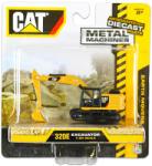 Toy State CAT: Fém munkagépek - 320E lánctalpas markológép 1:90