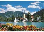Clementoni Clementoni: Alpesi tó (Tegernsee) 6000 db-os puzzle (365180) - Puzzle / több, mint 5000 darab