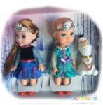 Toys Set Papusi Elsa Anna Si Olaf Din Frozen Papusa