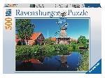 Regio Regio: Szélmalom a vízparton - 500 db-os puzzle (34122) - Puzzle / 500-999 darab