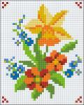 PIXEL Virág képkészlet, 1 alaplapos (PXL-801074-1)