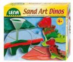 LENA Joc creativ Dinozauri cu nisip (42593)