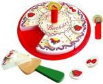New Classic Toys Tort aniversar cu decoratiuni (NC0592) Bucatarie copii
