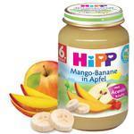HiPP Mangó-banán körtével 6 hónapos kortól - 90g