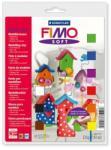 FIMO Soft Basic égethető gyurma készlet - Vegyes színek - 9x25g (FM802310)