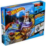 Mattel Hot Wheels - City - Cápatámadás színváltós kisautók pálya (BGK04)